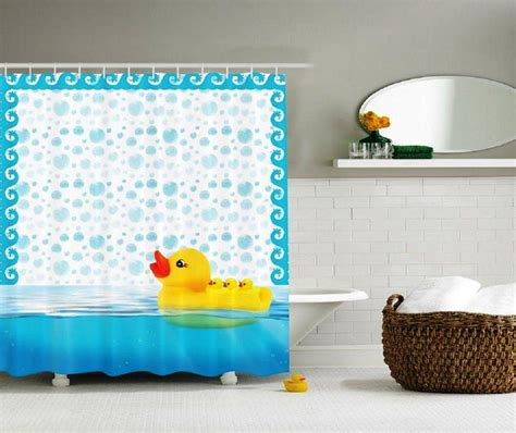 Rubber Duck Shower Curtain And Accessories Rubber Duck Rubber Duck Bathroom Accessories