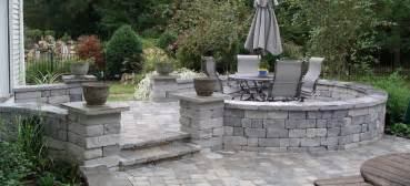 Paver Stone Patios by Fayetteville Nc Patios Stone Pavers Brick Cost Repair