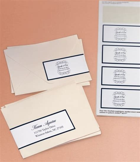 label templates for invitations here s an beautiful way to address your wedding