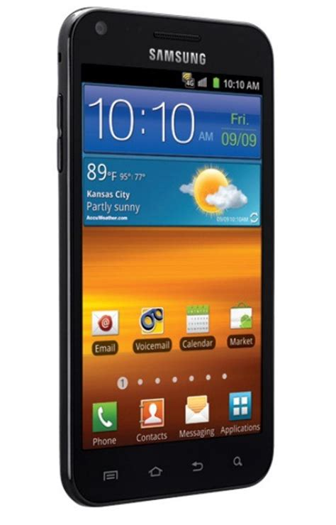 samsung epic 4g touch sprint s samsung epic 4g touch galaxy s ii lands on