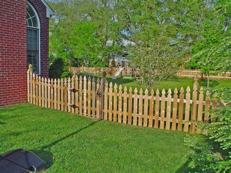 wood fence pickets great addition to yard fence ideas
