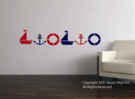 nautical wall decals for nursery nautical decals