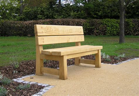 oak memorial benches the stapeley memorial bench engraved benches