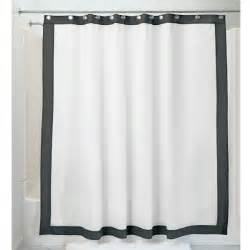 72 x 96 fabric shower curtain frame 72 quot x 96 quot extra long black white fabric waterproof