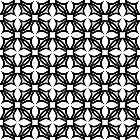 pattern clipart black and white black and white geometric pattern with symbolic flowers