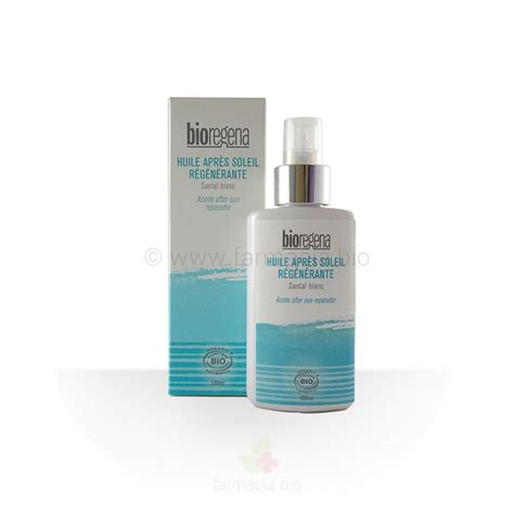bioregena aceite reparador after sun bio 100 ml farmacia bio