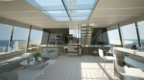 ultra modern mega yacht interior superyacht margot interior luxury yacht charter