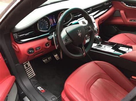 2015 maserati quattroporte interior 2015 maserati quattroporte luxurious interior http