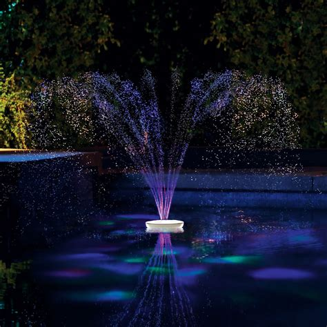 floating led pool lights floating pool fountains with lights images