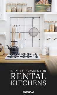 Rental Kitchen Ideas by Rental Kitchen Upgrades Popsugar Home