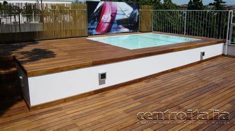 minipiscina da terrazzo minipiscine da terrazzo come creare un angolo relax
