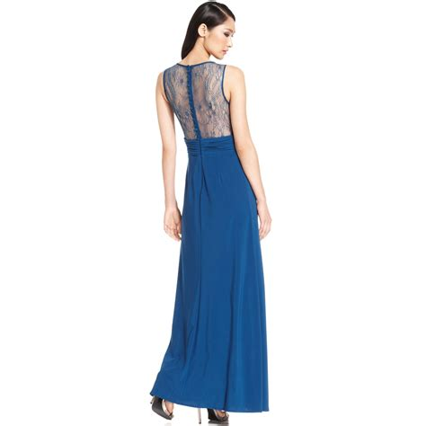 Js Blue lyst js collections js boutique laceback embellished