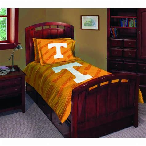 Tennessee Comforter Set by Tennessee Volunteers Ncaa College Comforter Set 63 Quot X 86 Quot