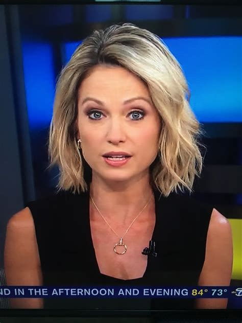 amy robach takes over as news anchor for josh elliott on amy robach haircut haircuts models ideas