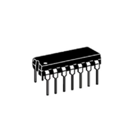 74ls00 integrated circuit chip 74ls00 7400 2 input nand gate ic