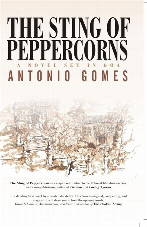 the sting of the books the sting of peppercorns a novel goa 1556 goa 1556