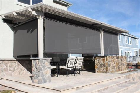 pennsylvania patio prvacy screens amp shutters photo gallery