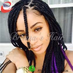 box braids hairstyle human hair or synthtic ombre box braids box braiding synthetic dark brown hairs