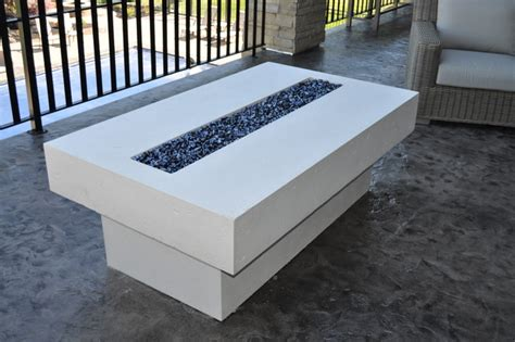 patio fireplace table table contemporary patio salt lake city by