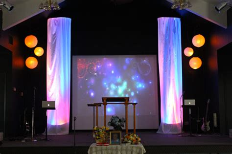 small stage lighting ideas big stage on a small stage church stage design ideas