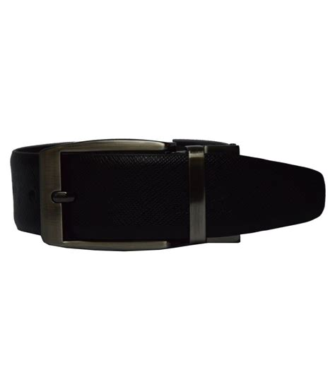 dennison black and brown leather belt buy at low