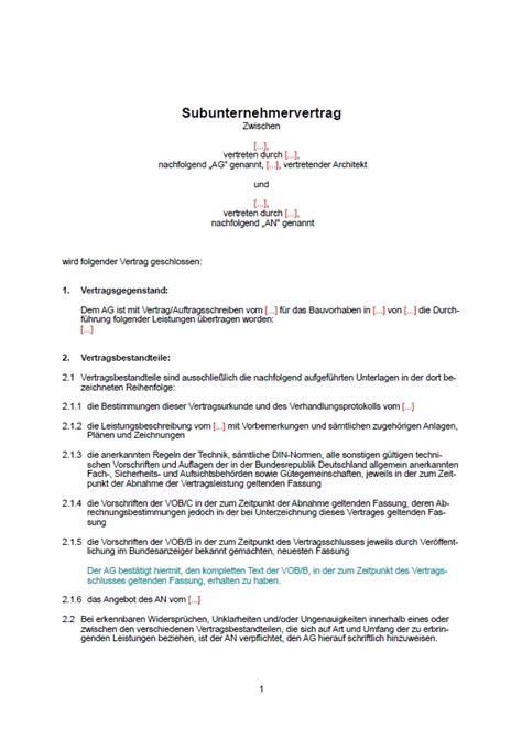 Kleinunternehmer Rechnung Als Subunternehmer Trockenbau Rechnung Mustermuster Subunternehmer Rechnung Seite 1png 19 Subunternehmer Muster