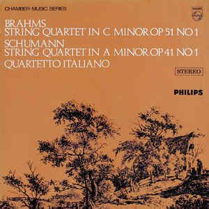 brahms schumann quartetto italiano string quartet
