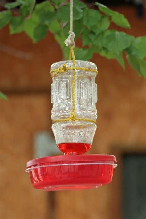 diy hummingbird feeder stars sunshine