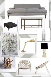 mood board scandinavian design in home decor modern