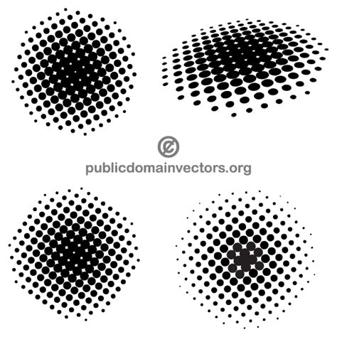 ai dot pattern halftone dots illustrator download free vector art