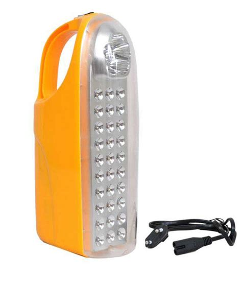 led rechargeable emergency light philips 6w square led emergency light yellow buy