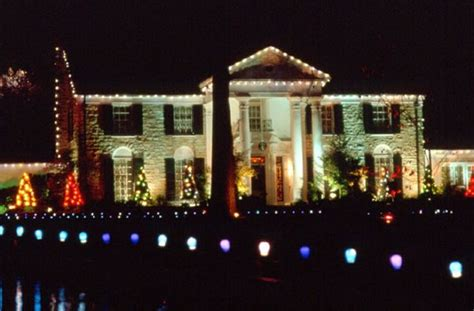 elvis presley blvd graceland christmas lights pictures to