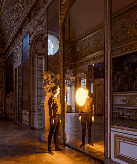 White Interior Led Lights Olafur Eliasson Takes Over The Palace Of Versailles