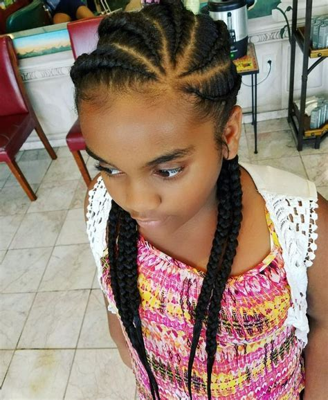 Kids Salon Corn Row | 606 best images about kids natural hairstyles on pinterest