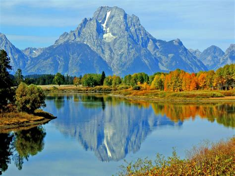 unterwegs im grand teton national park wyoming