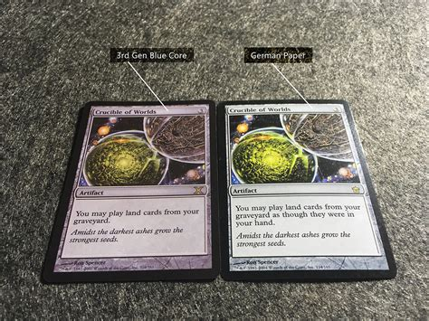 Differences Between Mtg Original Cards White Blue Black