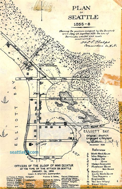 seattle map vintage p i archives map of seattle in 1856 seattle s big