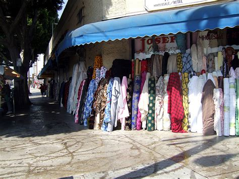 Wholesale Rugs Downtown Los Angeles by Downtown Los Angeles Fabric District Flickr Photo