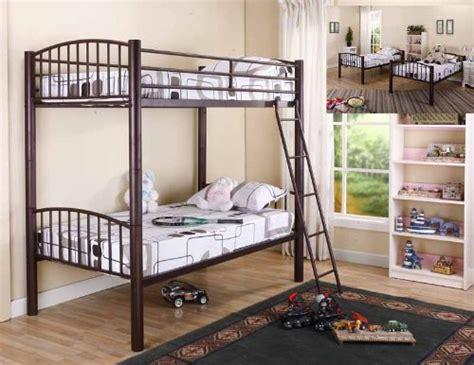 Kings Brand Bronze Metal Heavy Duty Twin Twin Size Bunk Bed Brands