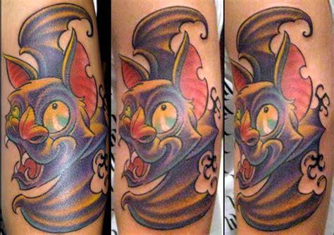 tattoo design vire cartoon bat tattoo