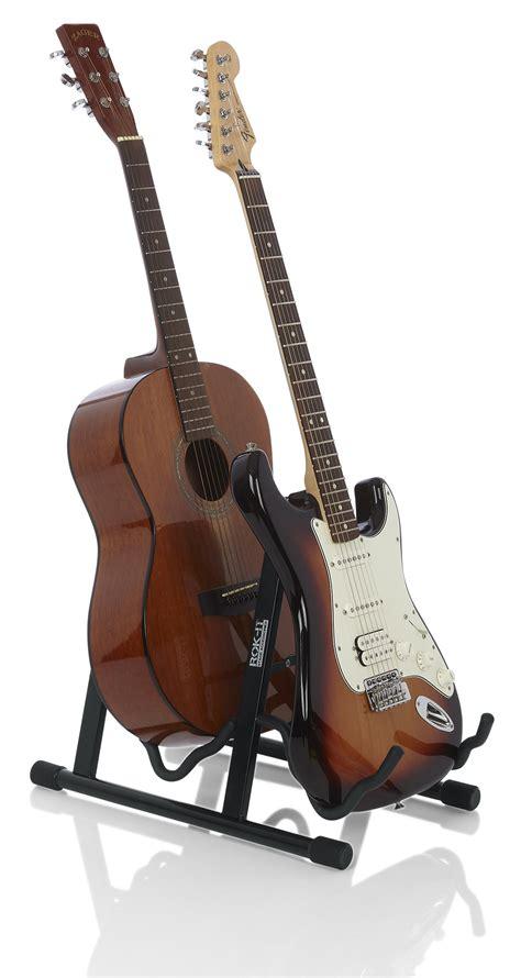 rok  dual universal  frame guitar stand ri gtraux