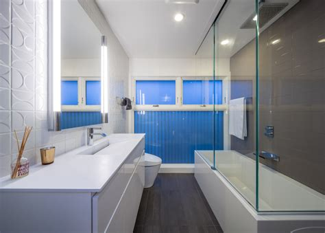 Modern Bathroom Renovation Minneapoli Riverfront Mid Century Modern Remodel Modern Bathroom Minneapolis By