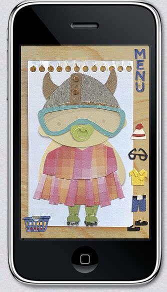 design doll app iphone paper dolls app design scouting