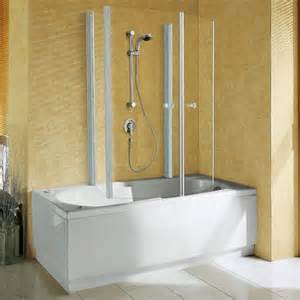 Over Bath Shower Enclosures Shower Enclosures Amp Trays From Vesta Bathrooms Shower