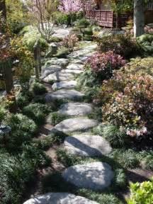 Front Yard Walkway Ideas - japanese garden path gardening pinterest