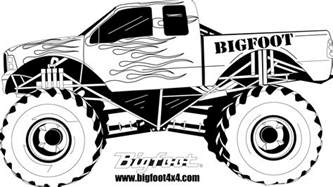 little monster truck videos how to draw monster truck bigfoot kids the place for