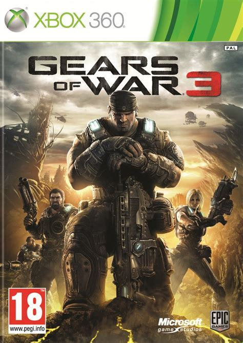 Kaset Xbox 360gear Of War 3 exclusively gears of war 3 jtag xbox 360 7 50 gb up claws