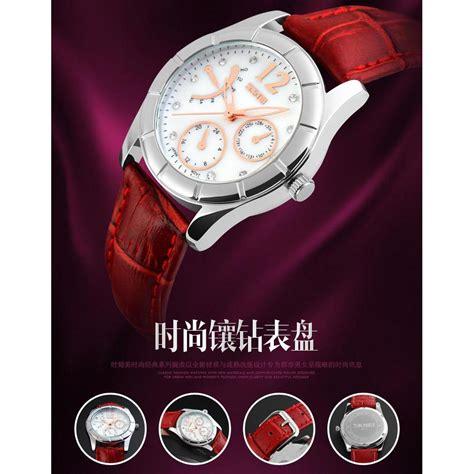 Jam Tangan Wanita 7 skmei jam tangan analog wanita 6911cl black jakartanotebook