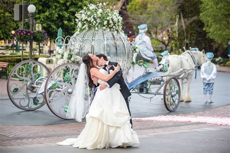 When Is The Wedding by The Ultimate Fairytale Wedding At Disneyland