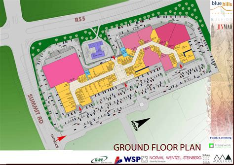 layout of eastgate mall blue hills shopping centre floor plan danie joubert